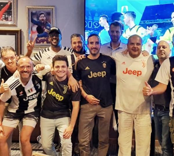 Juventus Fans in Abu Dhabi