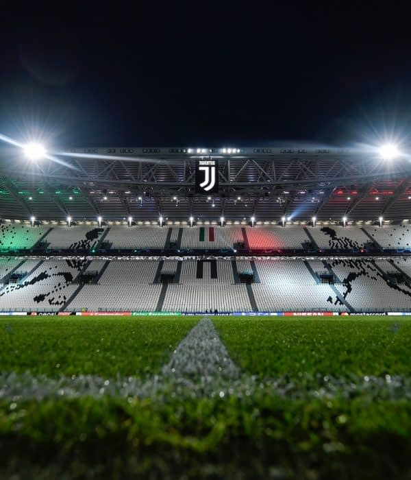 TURIN, ITALY - NOVEMBER 07: general view of the Allianz Stadium during the Group H match of the UEFA Champions League between Juventus and Manchester United at on November 7, 2018 in Turin, Italy. (Photo by Daniele Badolato - Juventus FC/Juventus FC via Getty Images)